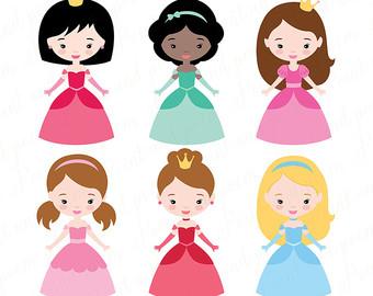 340x270 Princess Clip Art Fairytale Princess Clipart Little