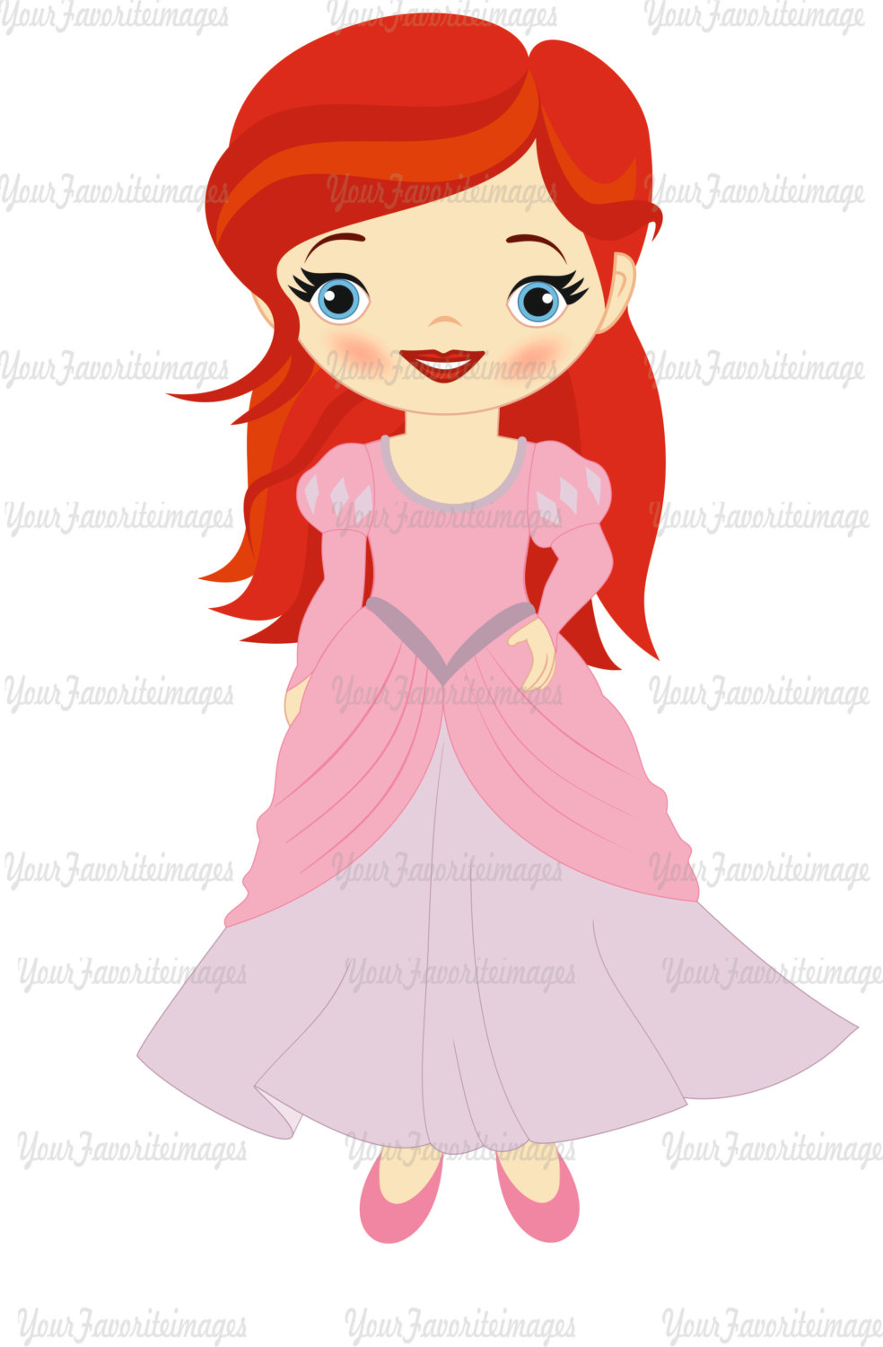 984x1500 80% Off, Little Mermaid Clipart Little Princess Clipart