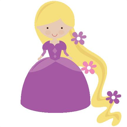 432x432 Nice Clip Art Princess Purple
