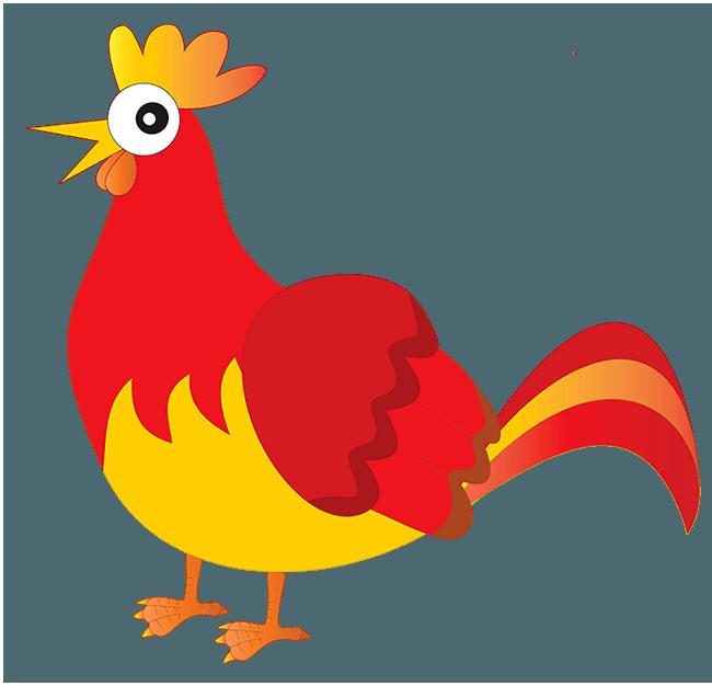 650x626 The Little Red Hen