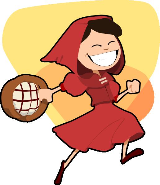 516x597 Little Red Riding Hood Clip Art