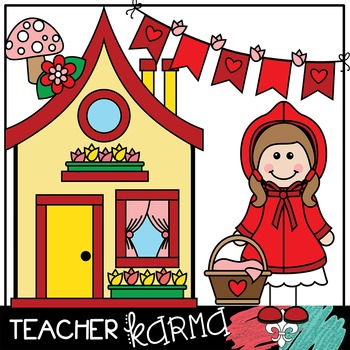 350x350 Little Red Riding Hood Clipart Fairy Tales Folk Tales By