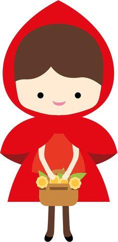 236x482 Little Red Riding Hood Template