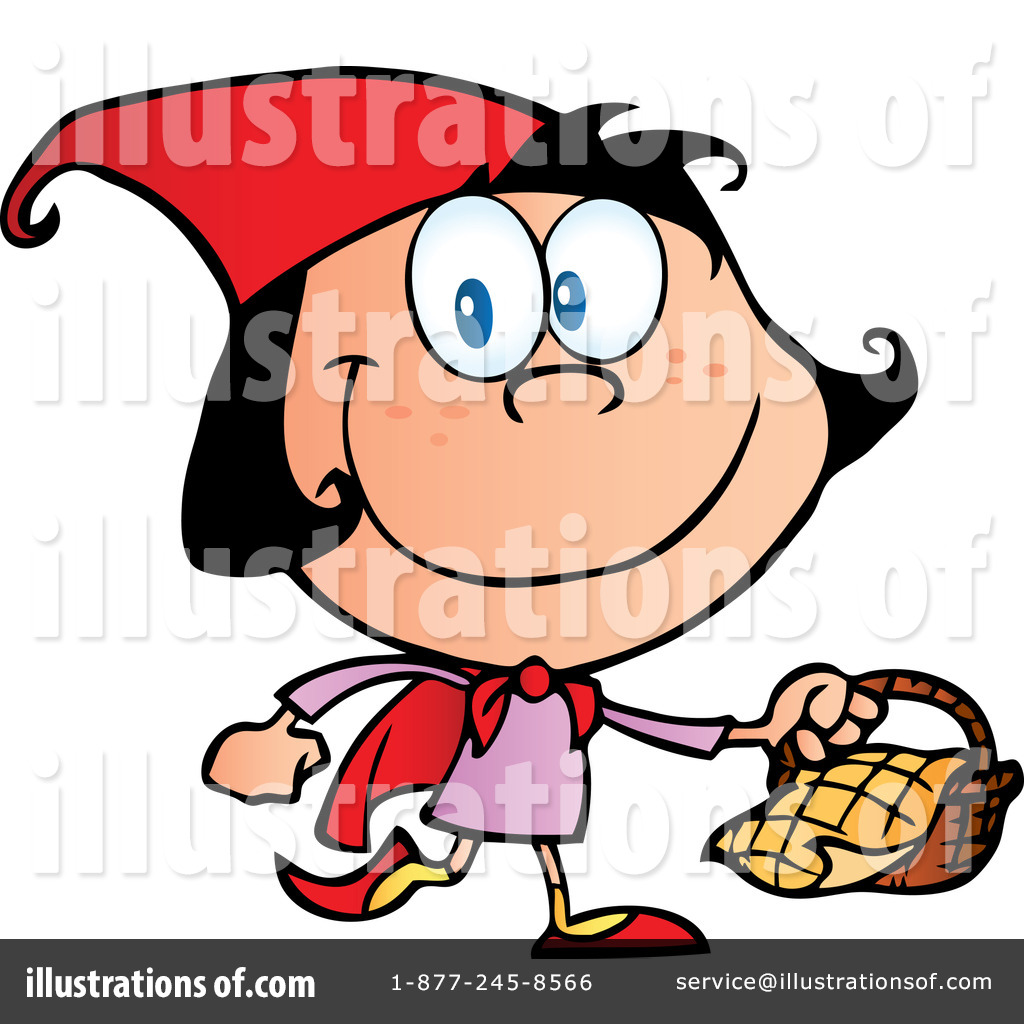 1024x1024 Red Riding Hood Clipart