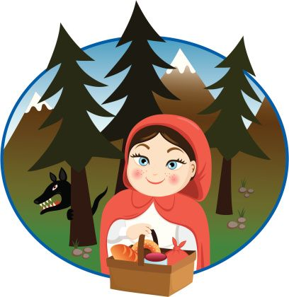 408x420 New Little Red Riding Hood