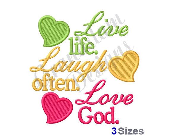 570x456 Live, Laugh, Love God