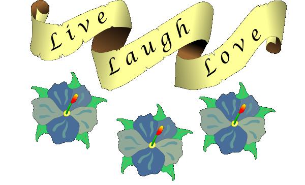 600x364 Sheaulle Live Laugh Love Clip Art