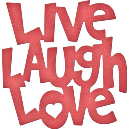500x500 Cheery Lynn Designs Live, Laugh, Love