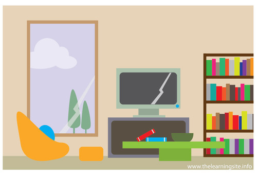 500x344 House Living Room Clip Art Clipart Panda