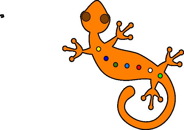 600x427 Lizard Clip Art