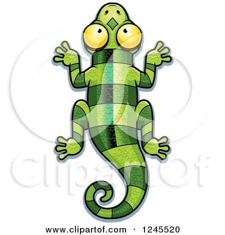 450x470 Royalty Free Vector Clip Art Illustration Of A Colorful Lizard By