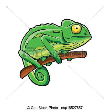 450x449 Chameleon Clip Art
