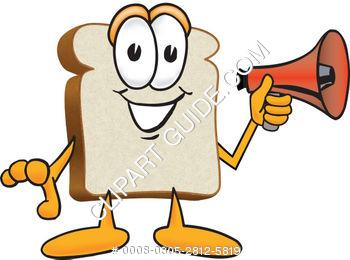350x260 Bread Clipart