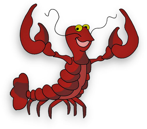 505x444 Crab Lobster Clipart