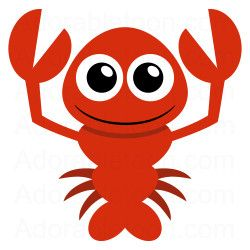 250x250 Cute Lobster Clipart From Marine Electronics