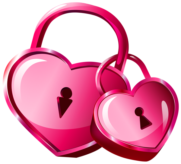 600x544 Heart Locks Transparent Png Clip Art Image
