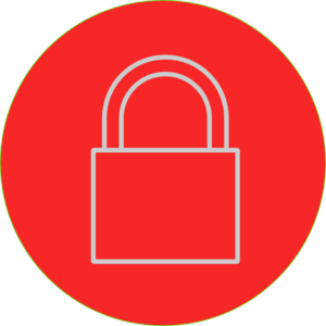 300x300 Lock Clip Art