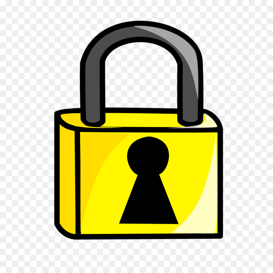 900x900 Padlock Combination Lock Clip Art
