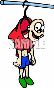 183x300 Clip Art Image A Nerd Hung Up By A Coat Hanger In The Locker Room