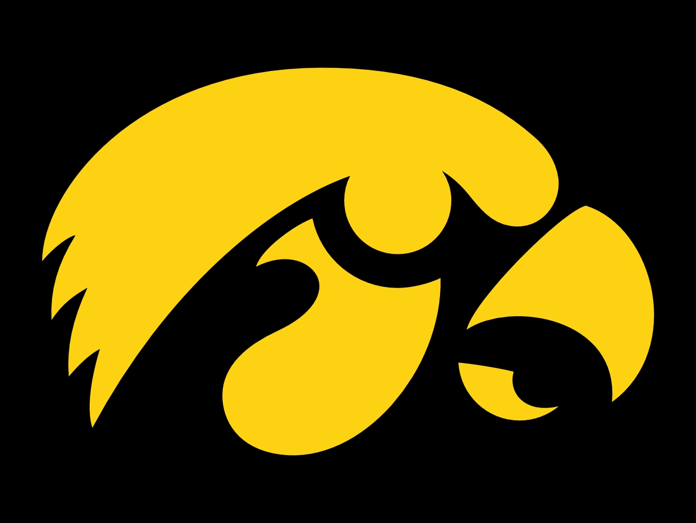 1365x1024 Iowa Hawkeye Logo Clip Art