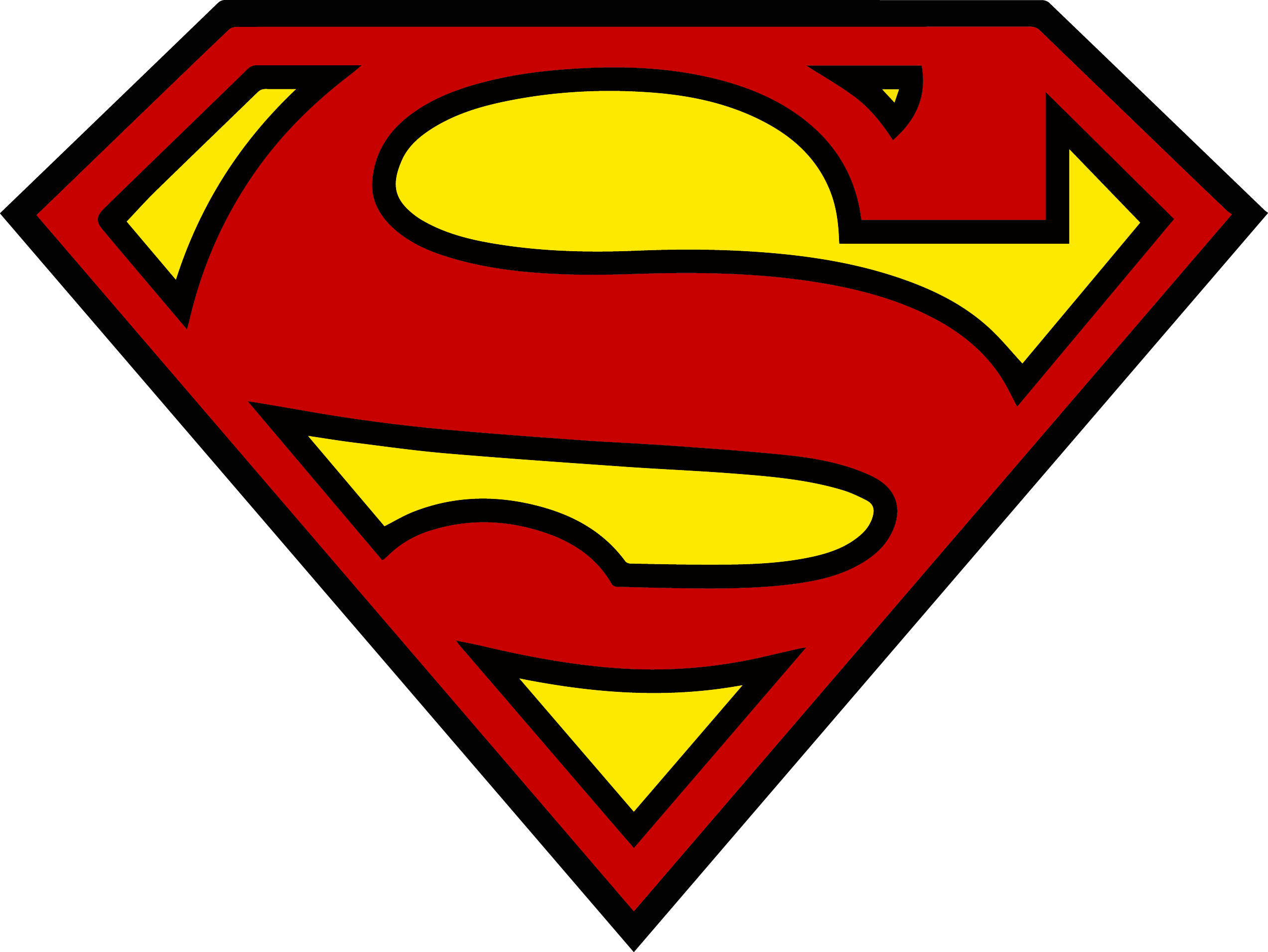 2545x1910 Superman Shield Logo Clip Art