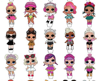 Lol Doll Clipart