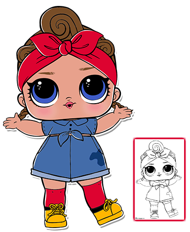 Lol Dolls Clipart At Getdrawings Com Free For Personal Use Lol