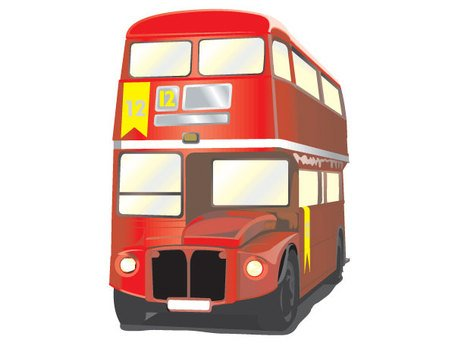 455x349 Free London Bus Vector Free Clipart And Vector Graphics