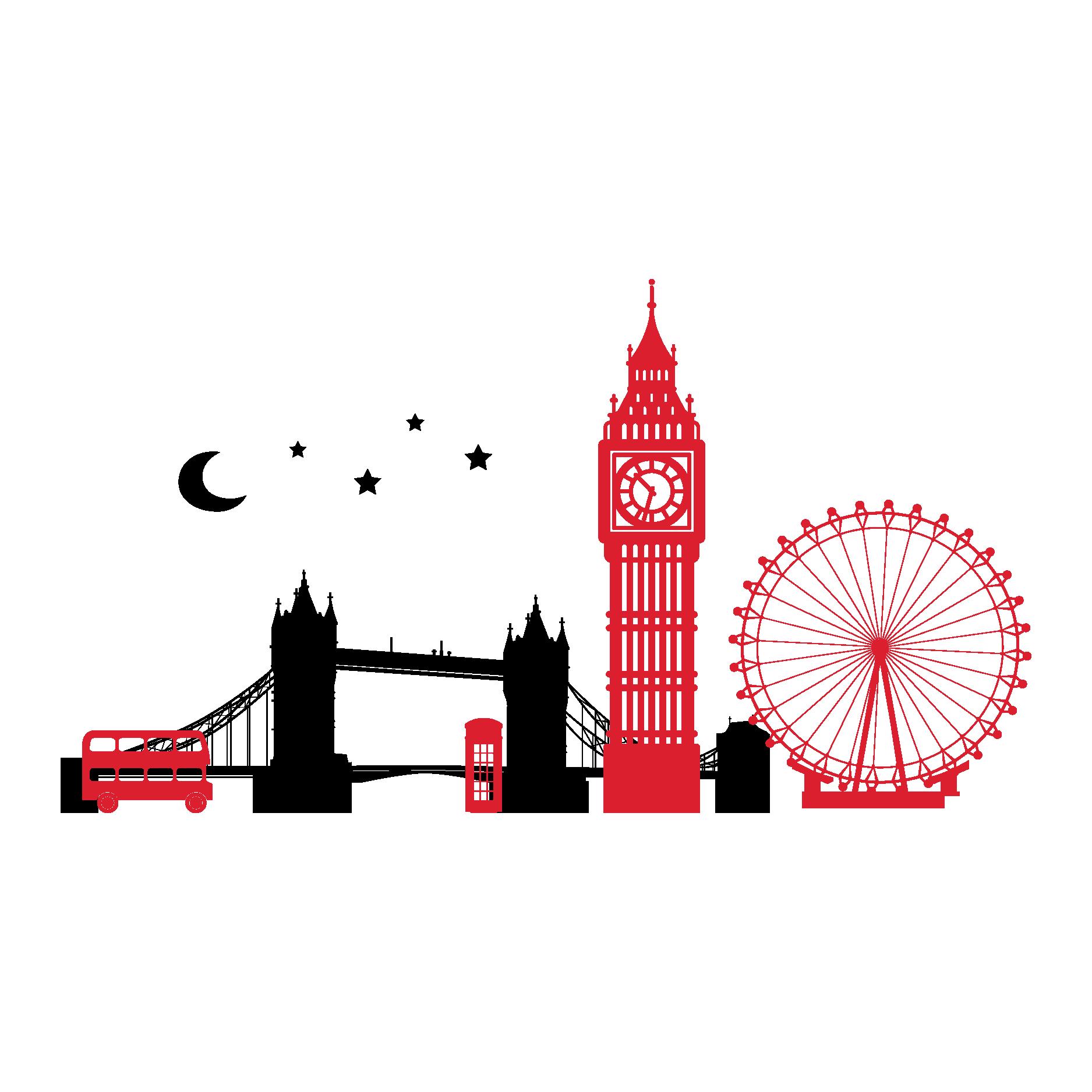1875x1875 London Clipart Skyline