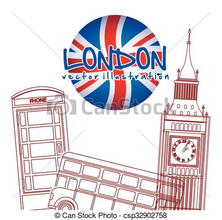 450x446 London City Design London City Design, Vector Illustration