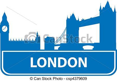 450x311 London Outline. Vector Illustration For You Design Eps Vectors
