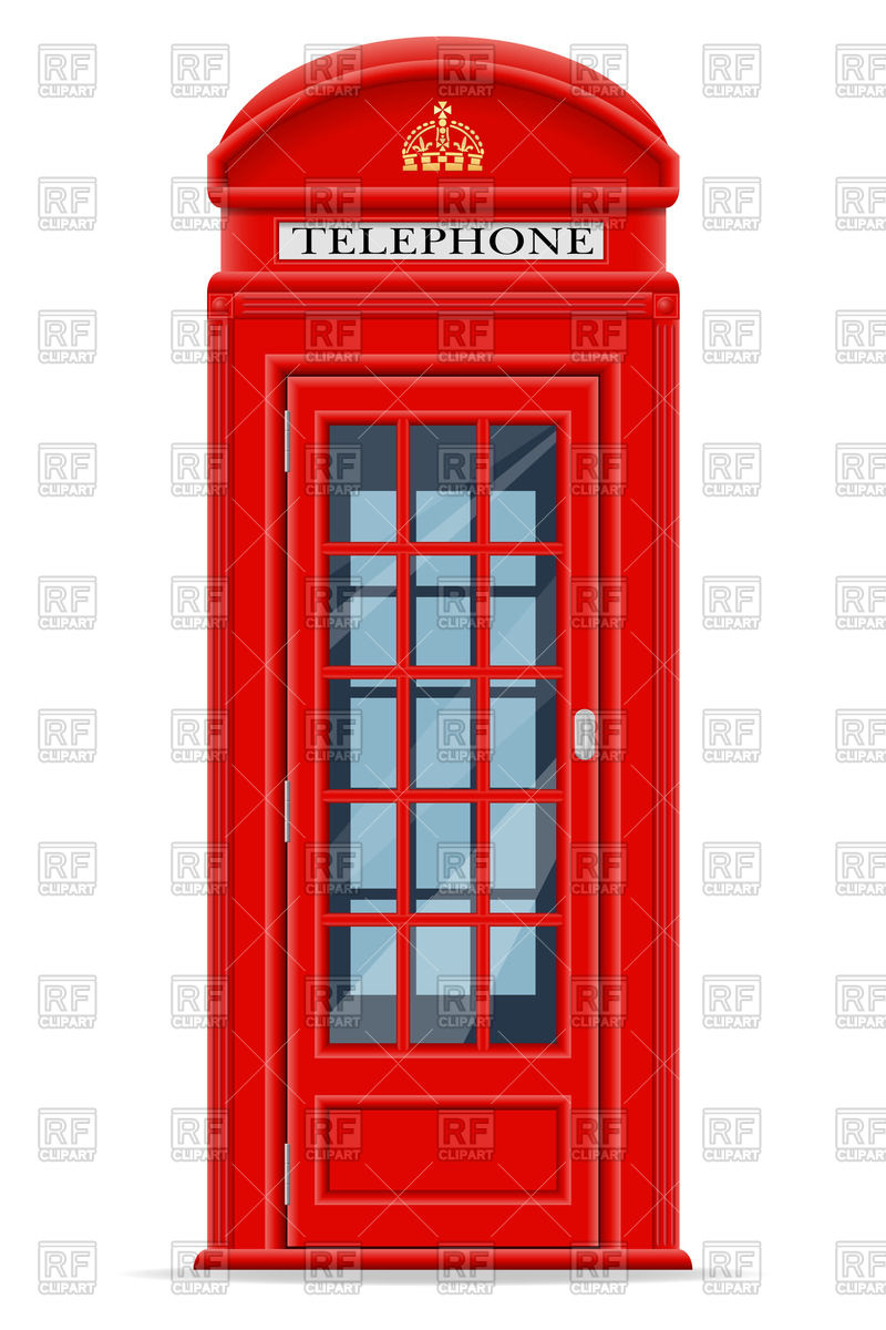 800x1200 London Phone Booth Vector Image Vector Artwork Of Objects