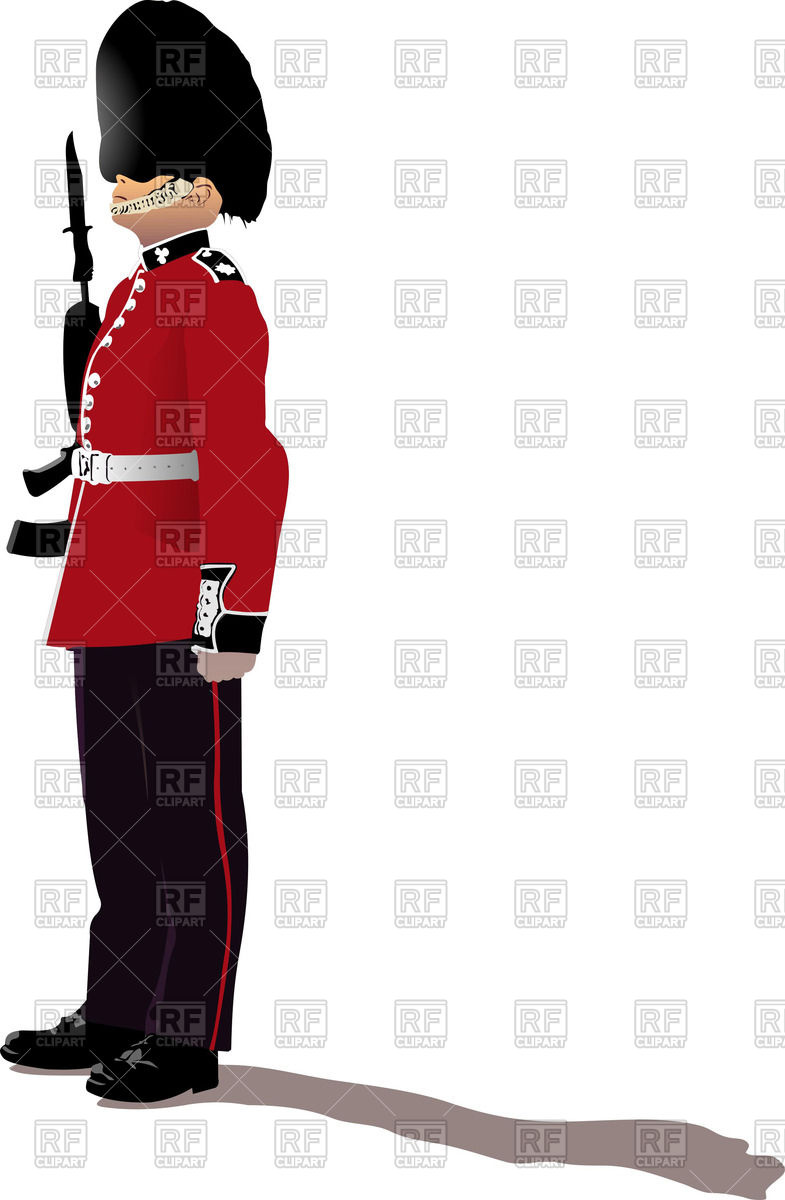 785x1200 Colorful Silhouette Of Beefeater