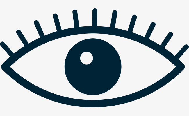 650x400 Eye Simple Stroke Png, Vectors, Psd, And Clipart For Free Download