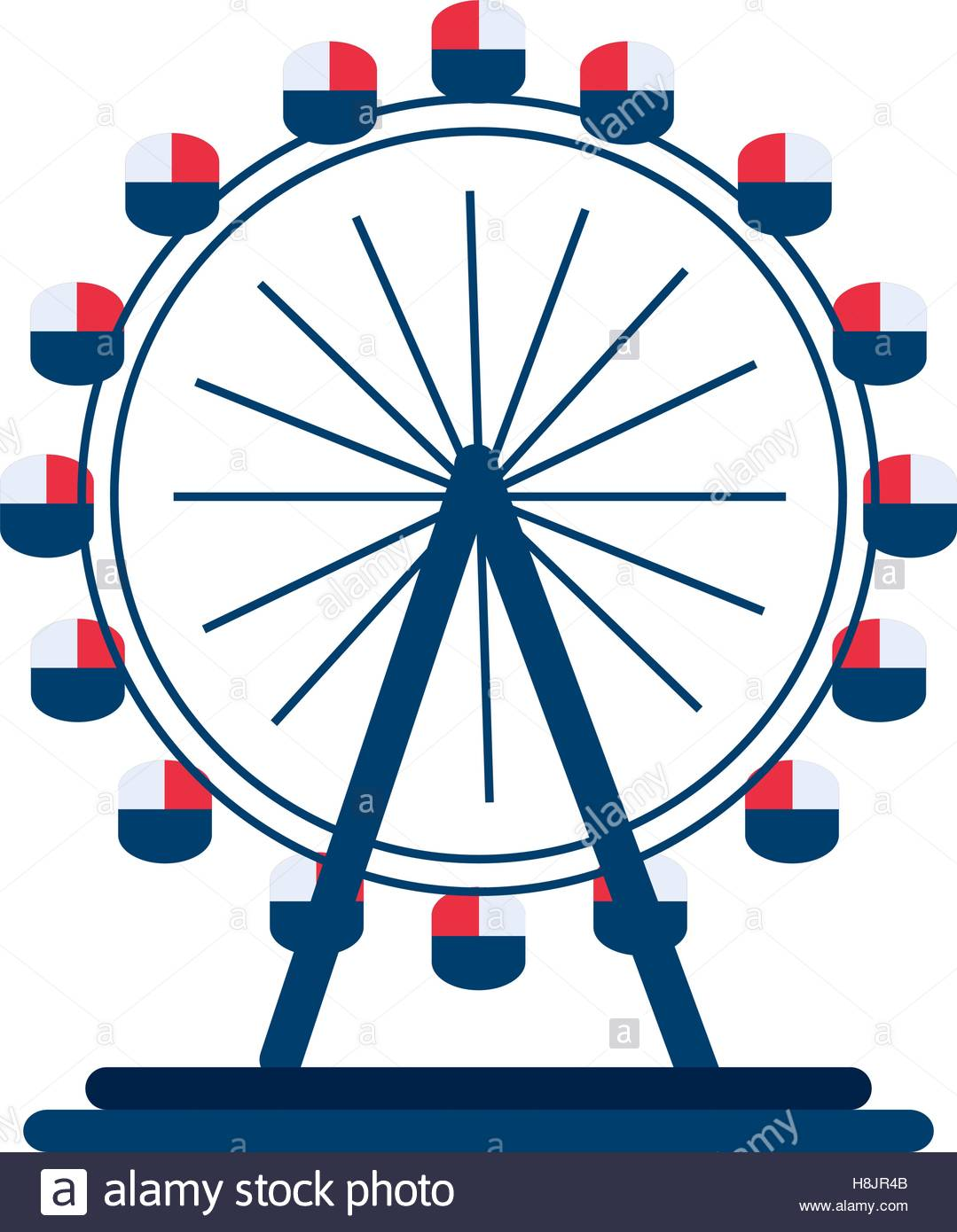 1079x1390 London Eye Wheel Stock Vector Art Amp Illustration, Vector Image
