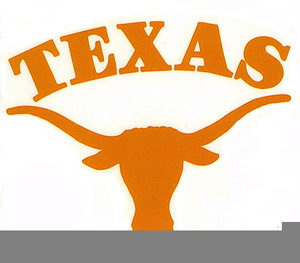 300x263 University Of Texas Longhorn Clipart Free Images