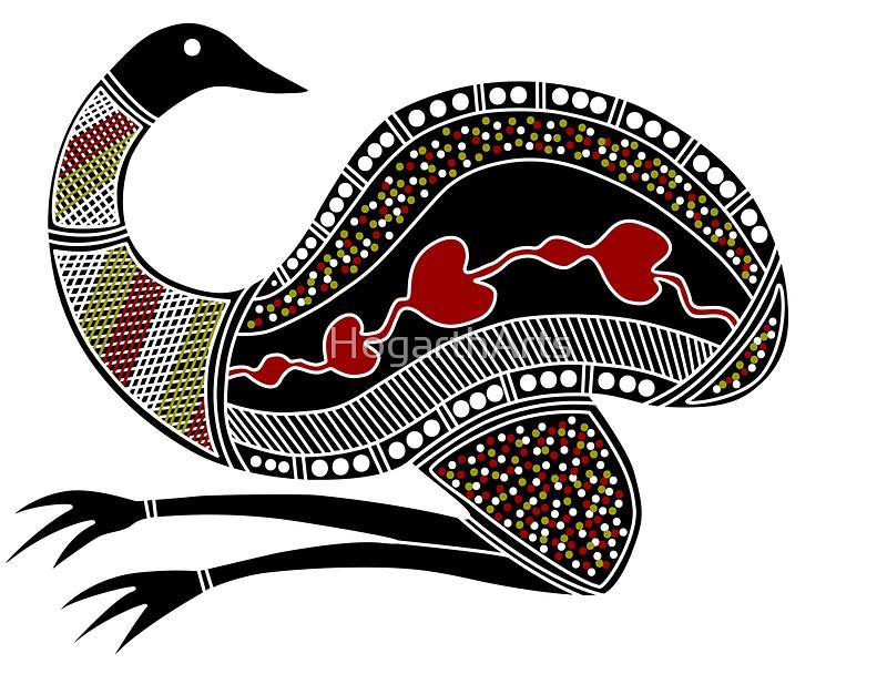 800x608 Emu Clipart Aboriginal