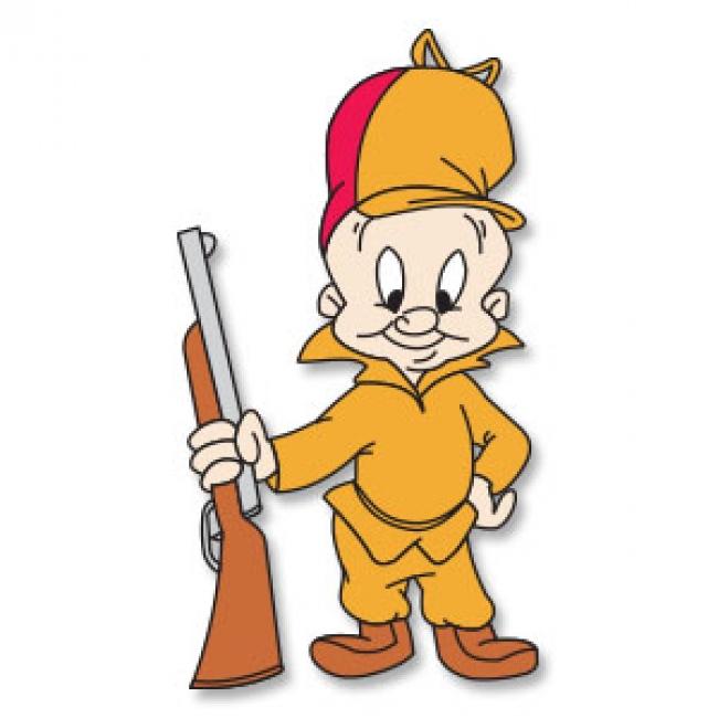 650x650 Hunter Looney Tunes Clipart