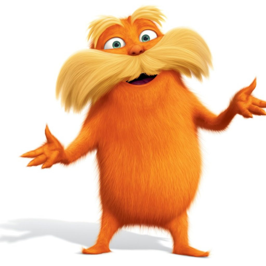 1024x1024 The Lorax Clipart