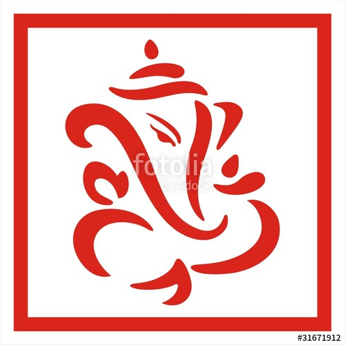 500x500 Lord Ganesha Stock Image And Royalty Free Vector Files On Fotolia