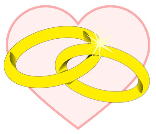 496x426 Wedding Ring Clipart Free Wedding Clipart Rings Misc