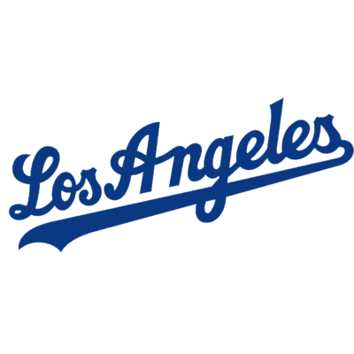 400x400 Los Angeles Dodgers Text Logo Transparent Png