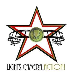 300x300 Lights Camera Action Clip Art