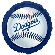 190x190 Los Angeles Dodgers Baseball Clip Art Free Image