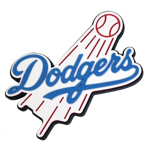 500x481 Los Angeles Dodgers Fan Foam 3d Logo Sign Wall Art Team Colors Mlb