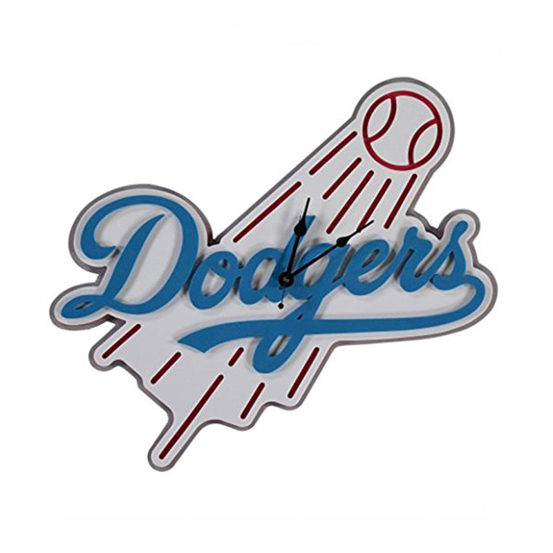 800x800 Los Angeles Dodgers Foam Clock
