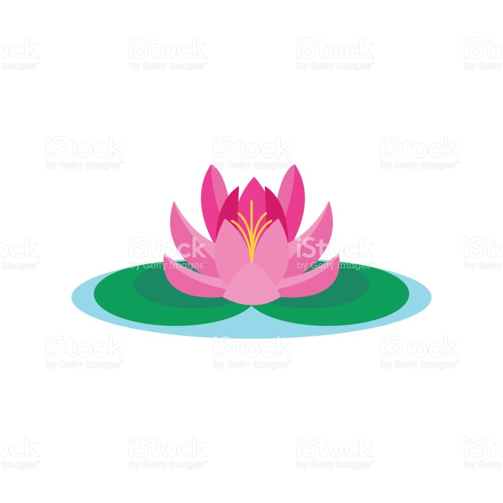 1024x1024 Tropical Lotus Clipart