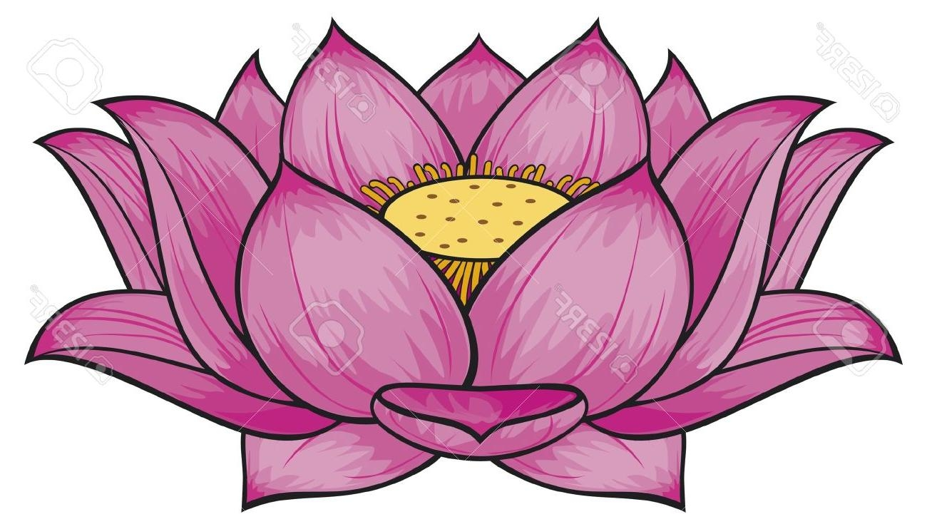 Lotus Flower Clipart At Getdrawings Free For Personal Use