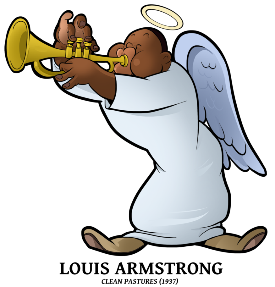 Louis Armstrong Clipart
