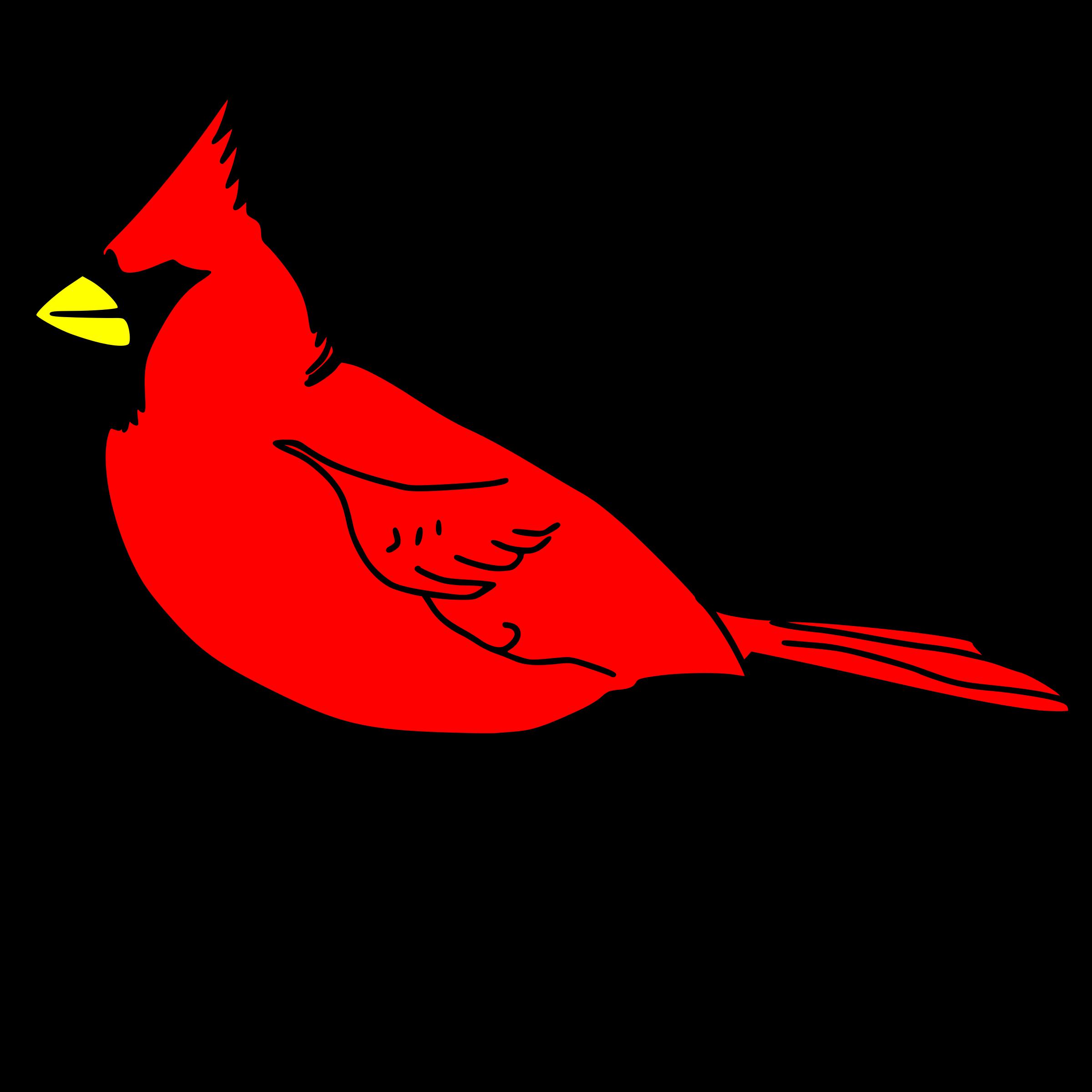2400x2400 Clipart Cardinal Remix 1 Cardinal Clipart